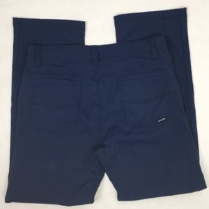 Prana Men's Navy Blue Slim Fit Pants * size 33X30